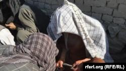 شماری از معتادین در کابل
