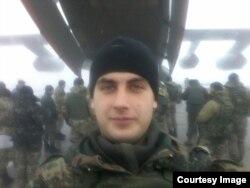 Олександр Животовський, боєць 79-ї окремої аеромобільної бригади на псевдо «Гриня»