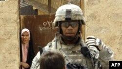 یک سرباز آمریکایی در بغداد