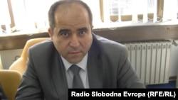 """Фадиљ Шабани, директор на локалното јавно претпријатие """"Пазаришта"""", Куманово."""