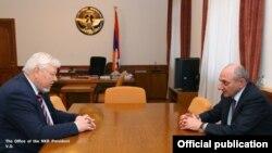 Bako Sahakyan və Andrzej Kasprzyk