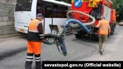 Ремон дороги в Севастополе