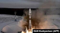 """Запуска ракет-носителя с разгонным блоком """"Фрегат"""" и 19 спутниками с космодрома Восточный"""