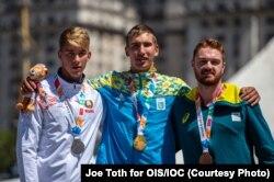 Іван Тищенко здобув першу золоту нагороду в академічному веслуванні серед чоловіків (одиночка)