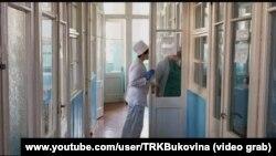 Інфекційне відділення у лікарні міста Чернівці, березень 2020 року
