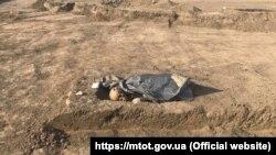 Мусульманское захоронение в исчезнувшем селе Унгут Кировского района Крыма