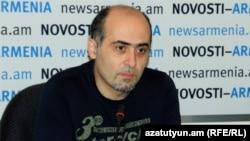 Տեղեկատվության անվտանգության փորձագետ Սամվել Մարտիրոսյանը: