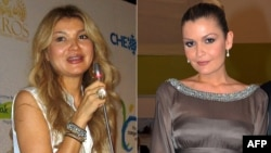 Gulnara Karimova (right) and her sister Lola Karimova-Tillyaeva