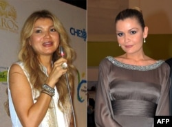 Islam Karimov's two daughters, Gulnara (left) and Lola (right), are believed to have flourished under their father's rule, with both featuring on a list of Switzerland's wealthiest residents published in 2011 by the Swiss business magazine Bilan.