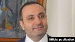 Чрезвычайный и полномочный посол Армении в РФ Вардан Тоганян (архив)