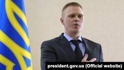 Председатель Донецкой областной военно-гражданской администрации Александр Куц. Краматорск, 22 июня 2018 года