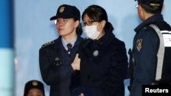 Чхве Сун Силь после оглашения приговора суда, 13 февраля 2018 года