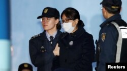 Чхве Сун Сил - дугонаи президенти пешини Кореяи Ҷанубӣ Пак Кин Хе