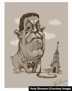 Йосип Кобзон, карикатура художника Юрія Журавля