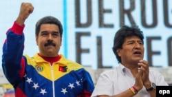 Нікалас Мадура і Эва Маралес