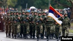 2014 елдың октябрендә Белградны Кызыл армия азат итүнең 70 еллыгы уңаеннан хәрби парад