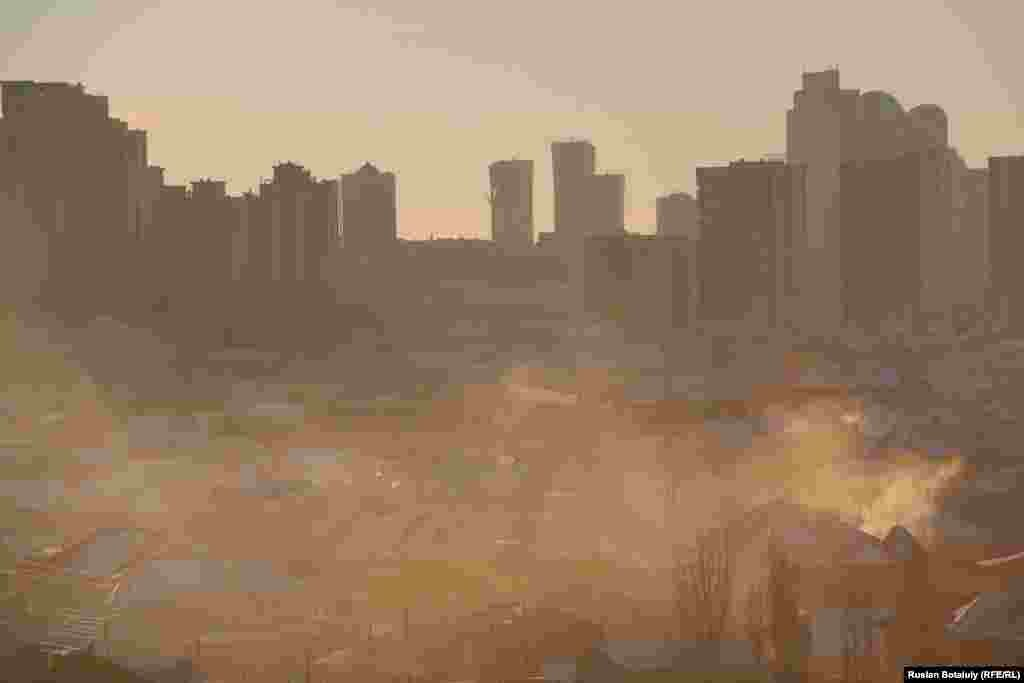 Астананың түтіні.
