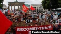 Бессмертный полк в Берлине, май 2019
