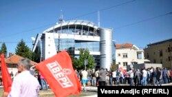 """Protest """"Ovako više ne može"""" u Beogradu"""