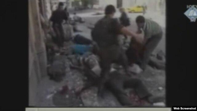 Snimak masakra na Markalama prikazan u sudnici