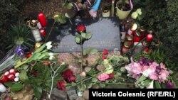 Foto nga një përkujtim i Jan Palachut në qendër të Pragës