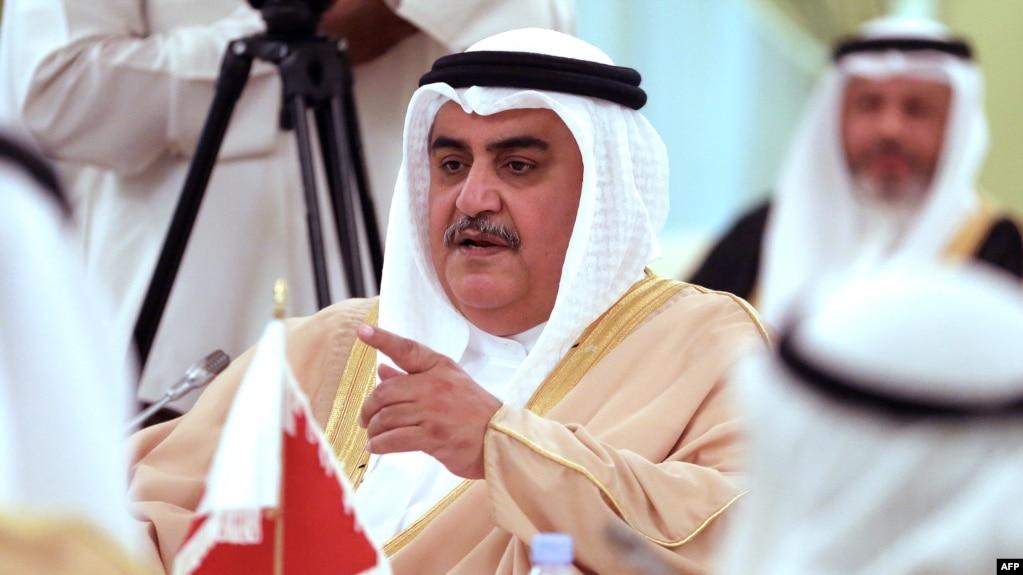 شیخ خالد بن احمد آل خلیفه، وزیر امور خارجه بحرین (عکس از آرشیو)