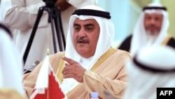 Bahrain's Foreign Minister Sheikh Khalid bin Ahmed Al Khalifa. File photo
