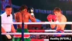 Миңгәр Сабантуенда бокс ярышы