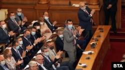 Депутати от 44-тото народно събрание малко преди лятната ваканция