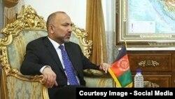 محمد حنیف اتمر مشاور امنیت ملی رئیس جمهور افغانستان