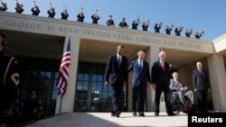Petorica bivših predsednika SAD