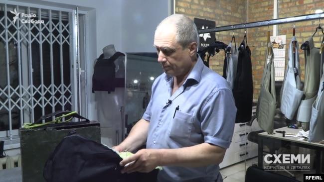 Результатами експерименту журналістів прокоментував Сергій Колядін – керівнику фірми, яка вже понад 20 років виготовляє бронезахист