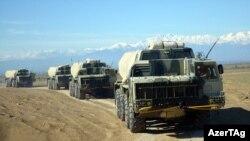 Azərbaycan ordusu təlimlərə başlayıb, 16 aprel 2017