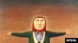 """Коля и Нина"", 1998; холст, масло"