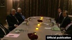 Встреча главы МИД Армении Эдварда Налбандяна с сопредседателями Минской группы ОБСЕ, 20 сентября 2016 г.