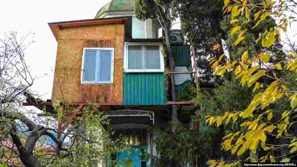На месте этого дома в Гурзуфе в старину располагалась крымскотатарская школа