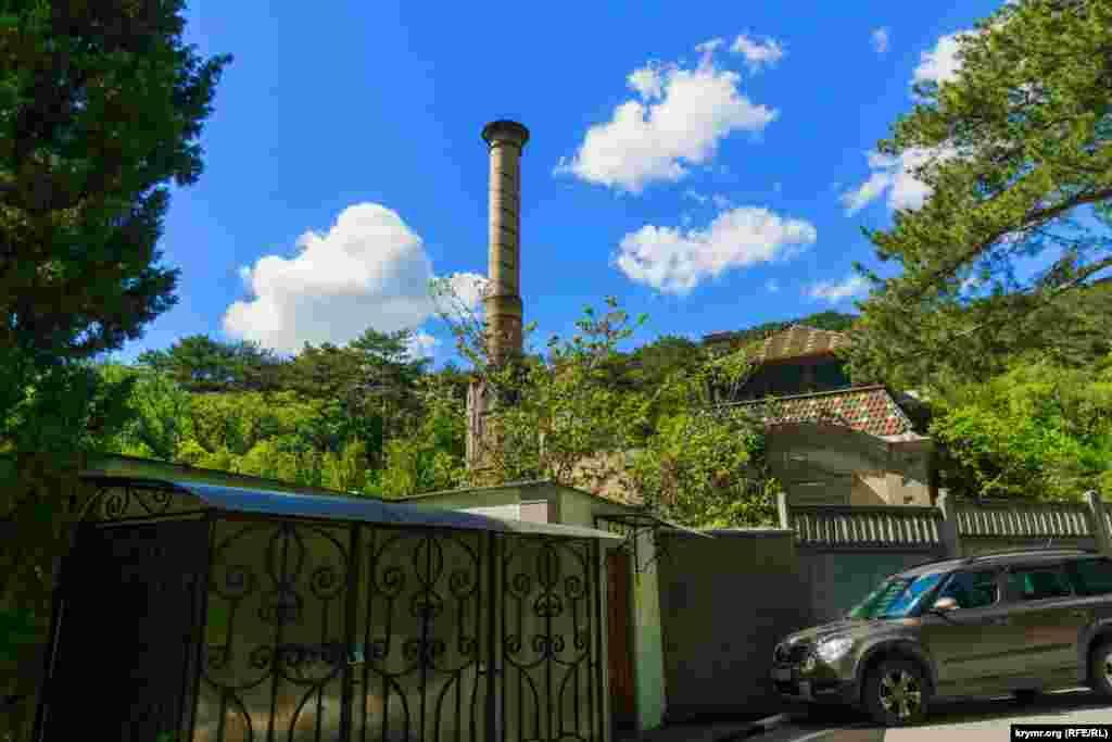 Машинне відділення Масандрівського палацу