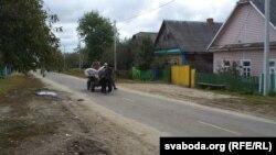 На галоўнай вуліцы Радзівілавічаў