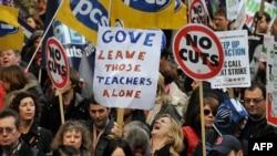 Страйк проти реформи державної пенсійної системи, Лондон, 30 листопада 2011 року