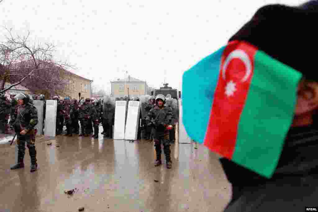 Protest Violence Erupts In Azerbaijan #16