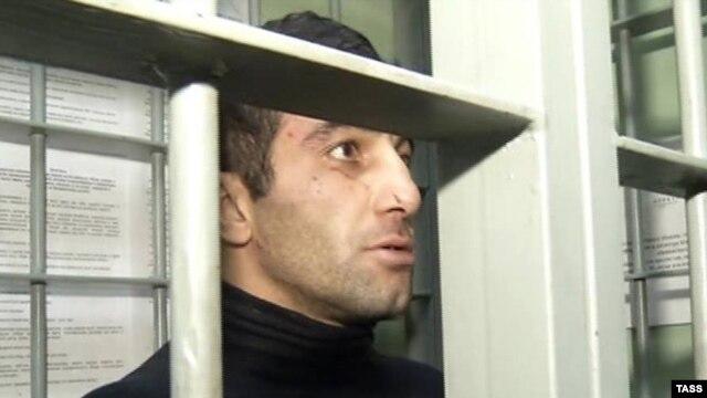 Orxan Zeynalov Moskvada həbsxanada. 15 oktyabr 2013
