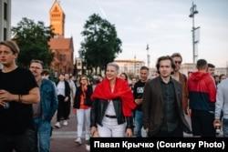 Марыя Калесьнікава і Іван Краўцоў