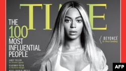 بیانسه بر روی جلد مجله تایم