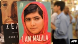 Malala is promoting her book.