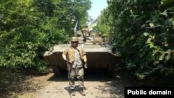 Івана Лозового під час служби у батальйоні «Айдар»