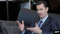 Сирия президенті Башар Асад. Дамаск, 25 тамыз 2013 жыл.
