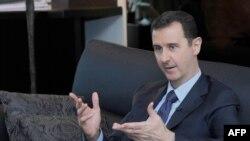 Президент Сирии Башар Асад. Дамаск, 25 августа 2013 года.
