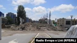 Barikade na severu Mitrovice