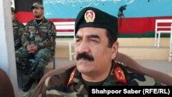 نورالله قادری قوماندان قول اردوی ۲۰۷ ظفر در غرب افغانستان
