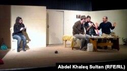 مشهد من مسرحية السكران
